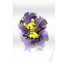 Mimikkyu Pokemon  Poster