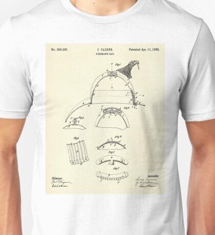 Fireman´s Hat- 1882 Unisex T-Shirt