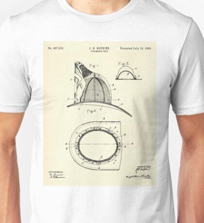 Fireman´s Hat- 1889 Unisex T-Shirt