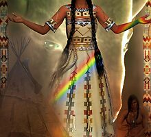 white buffalo calf woman by shadowlea
