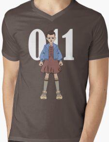 Stranger Things -  Eleven Mens V-Neck T-Shirt
