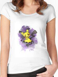 Mimikkyu Pokemon  Women's Fitted Scoop T-Shirt