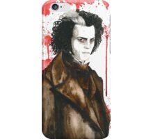 Sweeney Todd - Demon Barber iPhone Case/Skin
