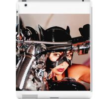 beautiful bikers catwoman iPad Case/Skin
