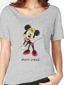 Minnie Cyrus (Miley Cyrus and Minnie Mouse Parody Mix) Women's Relaxed Fit T-Shirt