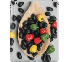 Black Beans & Bell Peppers iPad Case/Skin