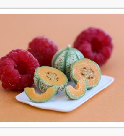 Tiny Melons Giant Raspberries Sticker