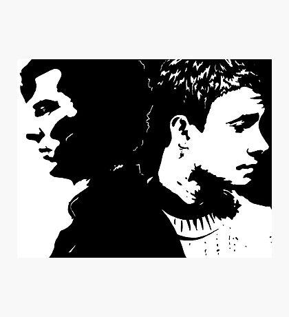 Sherlock and John, Dark and Light Photographic Print