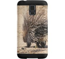 Porcupine and its Quills - African Wildlife Samsung Galaxy Case/Skin