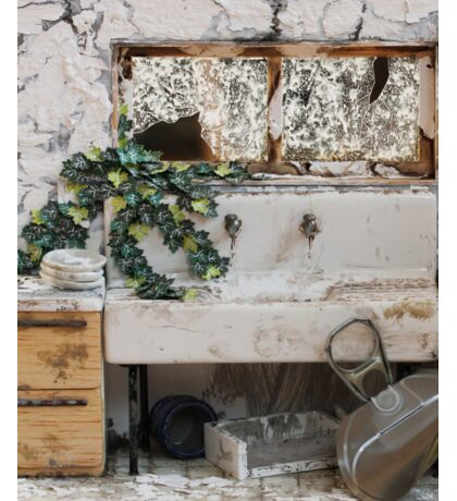 Abandoned Kitchen Sticker