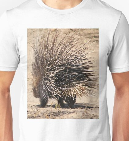 Porcupine and its Quills - African Wildlife Unisex T-Shirt