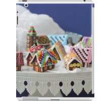 Who Needs a Cake When You Can Get Tiny Houses? iPad Case/Skin