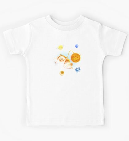 Cosmic Angler Fish Kids Clothes