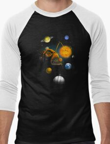 Cosmic Angler Fish Men's Baseball ¾ T-Shirt