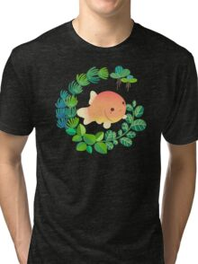 Common goldfish Tri-blend T-Shirt