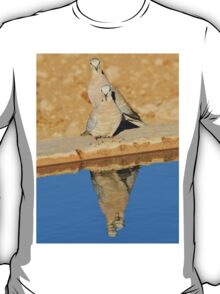 Cape Turtle Dove - Reflection of Blue - African Wildlife T-Shirt