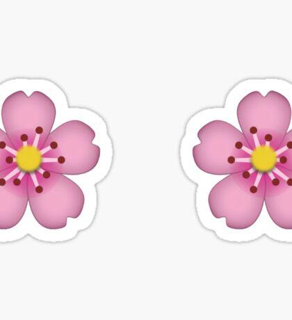 Emoji flower Sticker