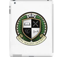 School of Hard Knocks University Crest iPad Case/Skin