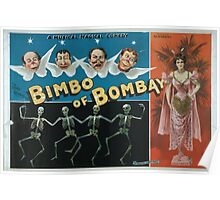 Performing Arts Posters A magical musical comedy Bimbo of Bombay 0816 Poster