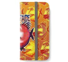scar face fish iPhone Wallet/Case/Skin