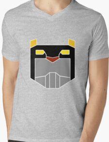 Black Lion Mens V-Neck T-Shirt