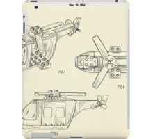 Lego Helicopter-1994 iPad Case/Skin