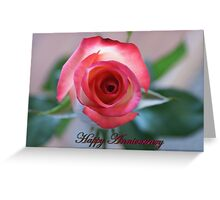Happy Anniversary; Woodside Florist, Whittier, CA USA Greeting Card