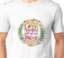 Semper ad Meliora Toward better things Latin phrase Unisex T-Shirt