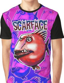 scar face fish Graphic T-Shirt