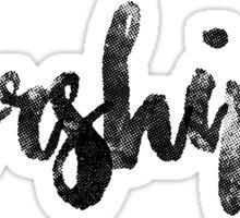 Worshiper Sticker