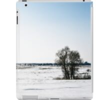 winter mood iPad Case/Skin