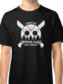 Camp Crystal Lake Counselor Classic T-Shirt