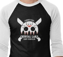 Camp Crystal Lake Counselor Men's Baseball ¾ T-Shirt