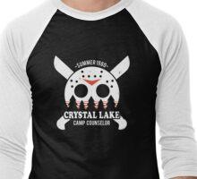 Camp Crystal Lake Counselor Men's Baseball ¾ T-Shirt