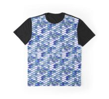 Meerjungfrauen Muster Graphic T-Shirt