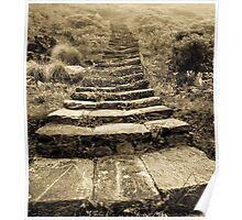 Staircase to Nirvana - Machapuchare Basecamp - Nepal Poster