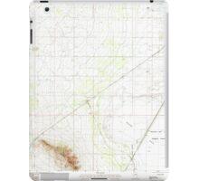 USGS TOPO Map Arizona AZ Red Bird Hills 313041 1985 24000 iPad Case/Skin