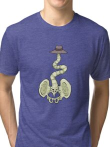 Crooked Spine Tri-blend T-Shirt