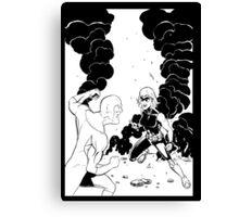 That Bulletproof Kid 2 cover Canvas Print