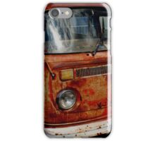 rusted bus iPhone Case/Skin