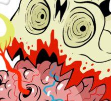 Oozing Skull Sticker