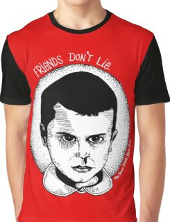 Friends Don't Lie - Stranger Things  Graphic T-Shirt