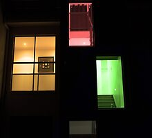 Coloured House by michaelgeddes