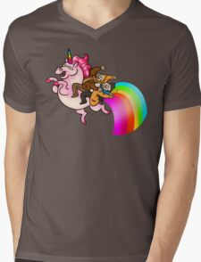 Platonic Unicorn Mens V-Neck T-Shirt