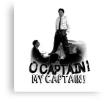 Dead Poet's Society - O Captain! My Captain! Canvas Print