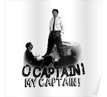 Dead Poet's Society - O Captain! My Captain! Poster