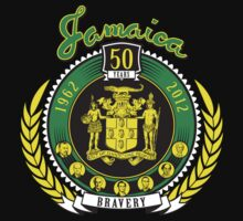 Jamaica 50th Anniversary Independence Tee by Lionart