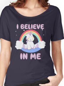 Cute Unicorn Women's Relaxed Fit T-Shirt