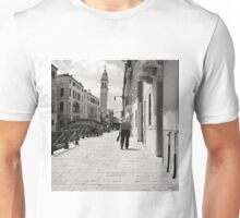 The Leaning Man Unisex T-Shirt