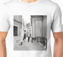 Venetian Lady In The Polka Dot Dress Unisex T-Shirt